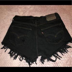Levi's Shorts - Levi Fringe Shorts